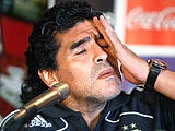 """Марадона: """"Мне не хочется играть с Россией"""""""