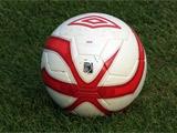 Сборная Украины тренируется мячами Umbro