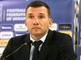 Андрей ШЕВЧЕНКО: «Окончательно со списком игроков на Хорватию определюсь сегодня вечером»