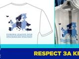 «Юргорден» выпустил футболки с украинским Крымом и Европой без России