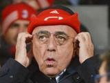 Адриано Галлиани: «Милан» вряд ли сможет позволить себе громкие приобретения в январе»