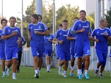 «Динамо» вышло из отпуска и провело первую тренировку