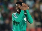 «Динамо» вернуло Аруну из лагеря олимпийской сборной Нигерии