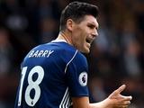 Бэрри побил рекорд Гиггса по количеству матчей в английской премьер-лиге