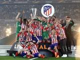 Стало известно сколько получит «Атлетико» за победу в финале Лиги Европы