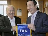 Йозеф Блаттер рекламирует Японию