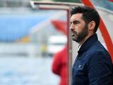 Паулу Фонсека: «Едем в Киев, чтобы сперва победить «Динамо», а потом праздновать чемпионство»