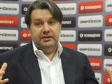 Герман Ткаченко: «Считаю, что киевское «Динамо» очень заинтересовано в объединенном чемпионате»