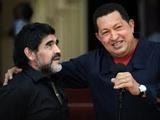 Марадона посетил на Кубе Уго Чавеса