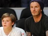 Бекхэм привел сына на просмотр в «Челси»