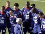 Сборная Франции отказалась от бонусов за выход на чемпионат мира в ЮАР