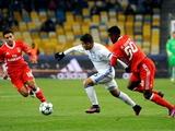 Лига чемпионов, 3-й тур: «Динамо» уступило в Киеве «Бенфике» (ФОТО)