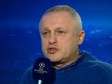 Игорь СУРКИС: «Я бы сегодняшний матч не брал во внимание»