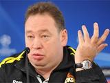 Леонид Слуцкий: «Матчи с киевским «Динамо», «Днепром», или «Шахтером» — «виповой» категории»
