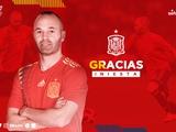 Иньеста объявил о завершении карьеры в сборной Испании