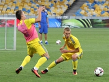 ФОТОрепортаж: открытая тренировка сборной Украины на НСК «Олимпийский» (40 фото)