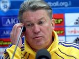 Олег БЛОХИН: «По движению в матче с Эстонией команда мне импонировала»