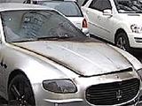 Cгорел автомобиль Милевского?