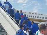 «Астана» вылетела в Киев в составе 22-х футболистов