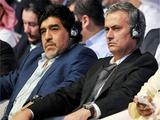 Марадона: «Очень хорошо, что Моуринью посадил Касильяса «на банку»
