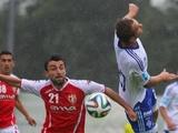 «Динамо» не без труда переигрывает «Скендербеу» (ВИДЕО)