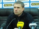 «Ворскла» — «Динамо» — 0:3. Послематчевая пресс-конференция