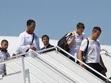 В Киев сборная Англии прибыла загодя