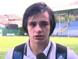 Николай Шапаренко: «После дебюта был короткий разговор с Хацкевичем»