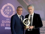 Моуринью получил награду за заслуги перед португальским футболом