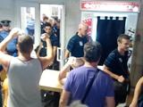 Болельщики «Черноморца» тепло встретили команду в Одессе