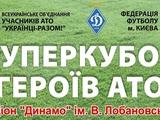 Сегодня в Киеве состоится матч за Суперкубок героев АТО