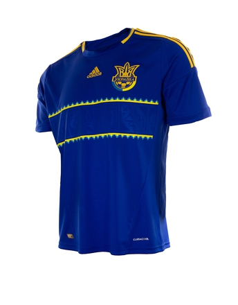 Сборная Украины, Игровая футболка Adidas Home Kit 2012/2014