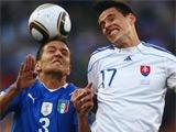 Сборные Парагвая и Словакии вышли в 1/8 финала чемпионата мира