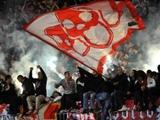 Более 100 человек задержаны в ходе драки футбольных фанатов в Белграде