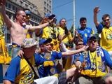 В Хернинге украинцы приготовили фан-парад