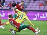 Сборная Украины провела худший матч за последние два года