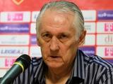 Черногория — Украина — 0:4. Послематчевая пресс-конференция Михаила Фоменко