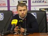 «Черноморец» – «Динамо» – 1:1. Послематчевая пресс-конференция