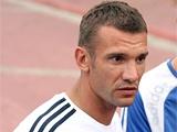 Андрей ШЕВЧЕНКО: «С удовольствием принял вызов в сборную»