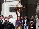 Во Львове установили Кубок Украины (ФОТО)