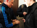 В Москве Моуринью подарили валенки