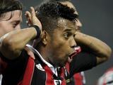 Робиньо повздорил с Аллегри на тренировке «Милана»