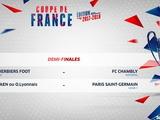 Жеребьевка полуфинала Кубка Франции свела между собой двух представителей третьего дивизиона