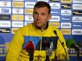 Андрей ШЕВЧЕНКО: «На повестке дня два финала»