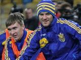 ФОТОрепортаж: открытая тренировка сборной Украины на НСК «Олимпийский» (20 фото)