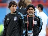Диего Марадона неожиданно вступился за Лионеля Месси