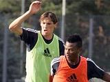 Дуду и Эксобар провели в «Динамо» первую тренировку
