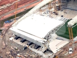 ФИФА расследует инцидент с падением крана на стадионе в Бразилии