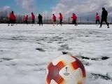 «Скендербеу» — «Динамо». В Албании выпал снег (ВИДЕО)