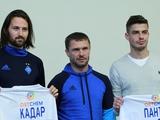 Презентация Александара Пантича и Тамаша Кадара в качестве игроков «Динамо» (ВИДЕО)